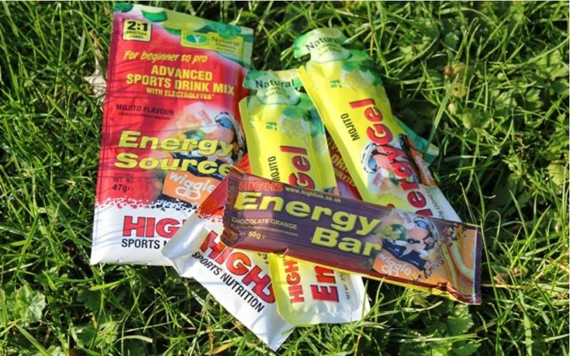 Productos de nutrición High5 exclusivos para Wiggle