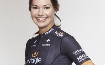 Amy Roberts, ciclista británica del equipo profesional femenino Wiggle High5