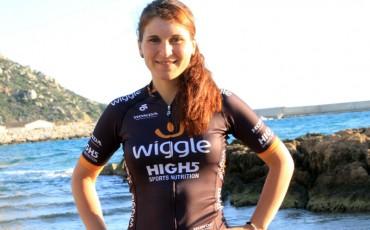 Foto de la ciclista Elisa Longo Borghini
