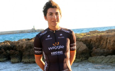 Foto de la ciclista Giorgia Bronzini