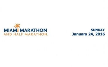 Logo del Maratón de Miami