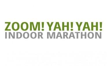Logo del Maratón Zoom! Yah! Yah!