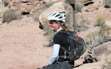 Pic of Sarah in Moab
