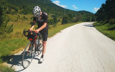 Ed Tibbitts: mi viaje cicloturista por Europa