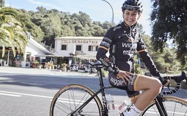 Anna Christian, ciclista profesional del equipo femenino Wiggle High5