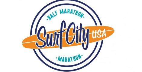Logo del maratón Surf City USA