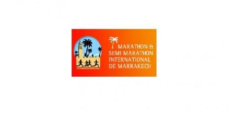 Logo del Maratón de Marrakech
