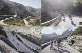 Fondos de pantalla del equipo ciclista profesional femenino Wiggle High5 en Mallorca